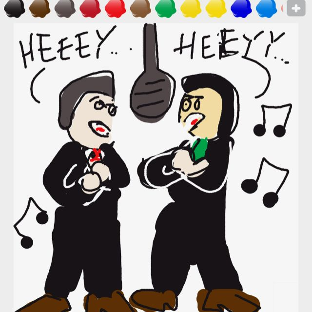Draw Something - Macarena! Who is that good at Draw Something??? Love it!