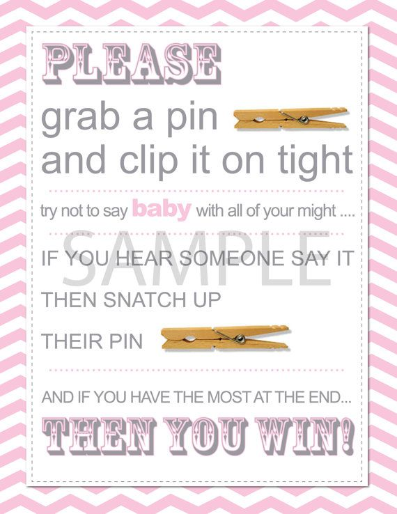 baby showers bridal shower games boy or girl baby girls clothespins