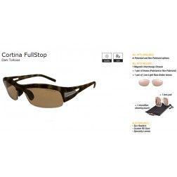 Switch Cortina FullStop Dark Tortoise/Contrast Amber Reflection Bronze Non Polarized
