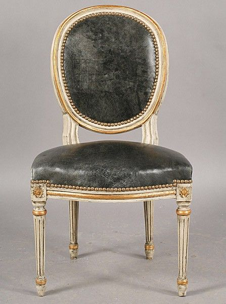 Balloon Back Louis Xiv Dining Chair Meuble De Style Chaise