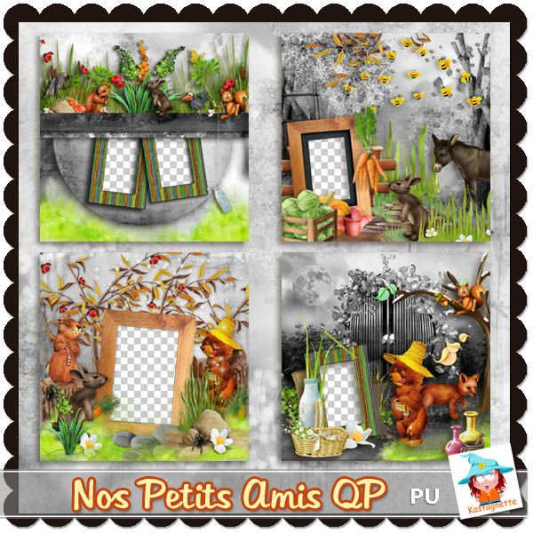 Nos petits amis Quick pages