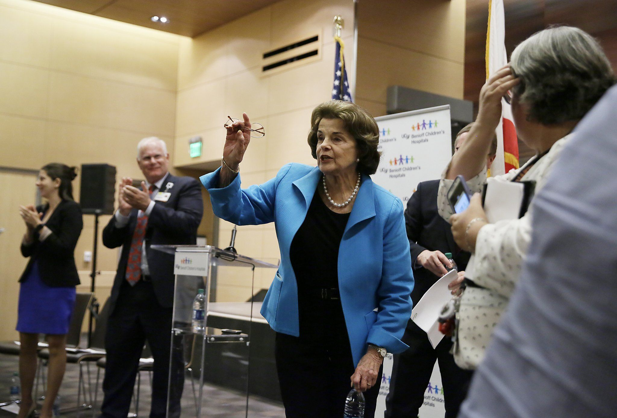 Feinstein revs up the opposition to GOP Senate health care