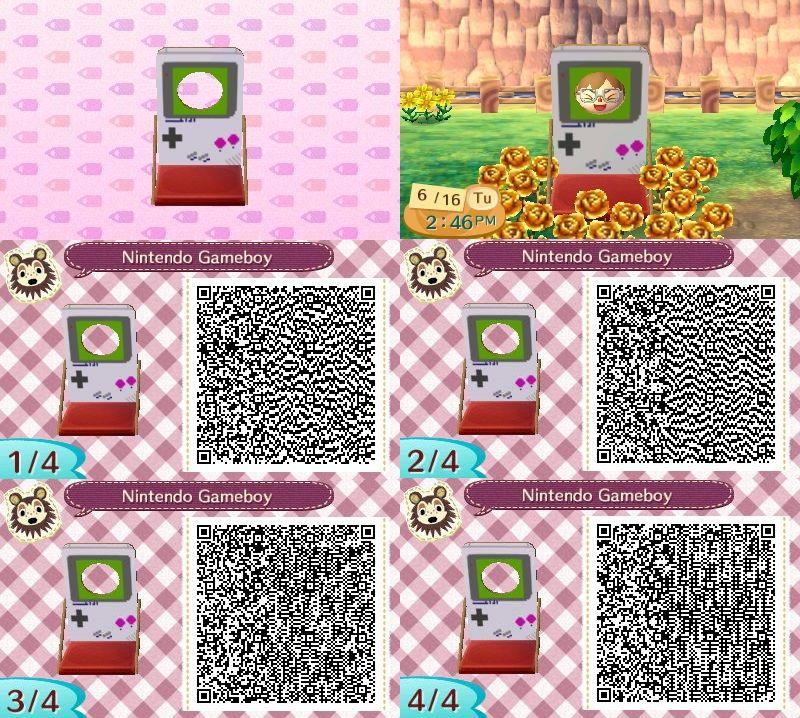 Animal Crossing: New Leaf & HHD QR Code Paths   Fruit