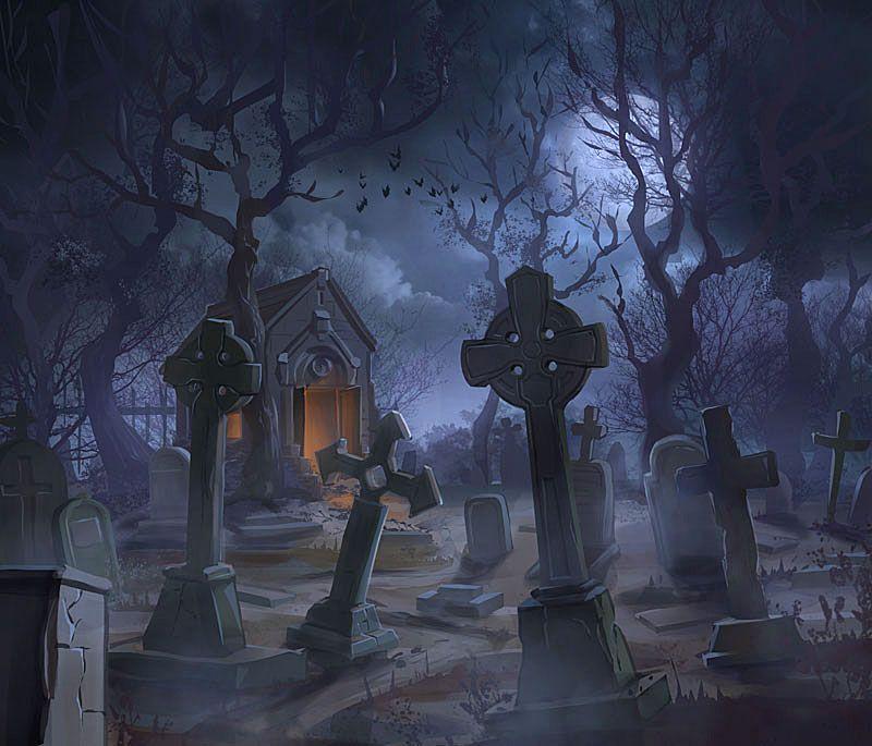 Fall Graveyard Cemetery Wallpaper Graveyard By Madtom86 On Deviantart Environments Of Vast