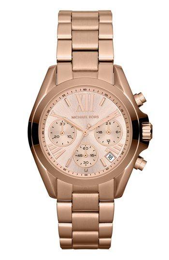 1a6385a43138 MICHAEL Michael Kors Michael Kors  Bradshaw - Mini  Chronograph Bracelet  Watch