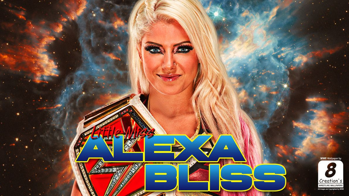 Alexa Bliss Wallpaper By Arunraj1791 Alexa Bliss