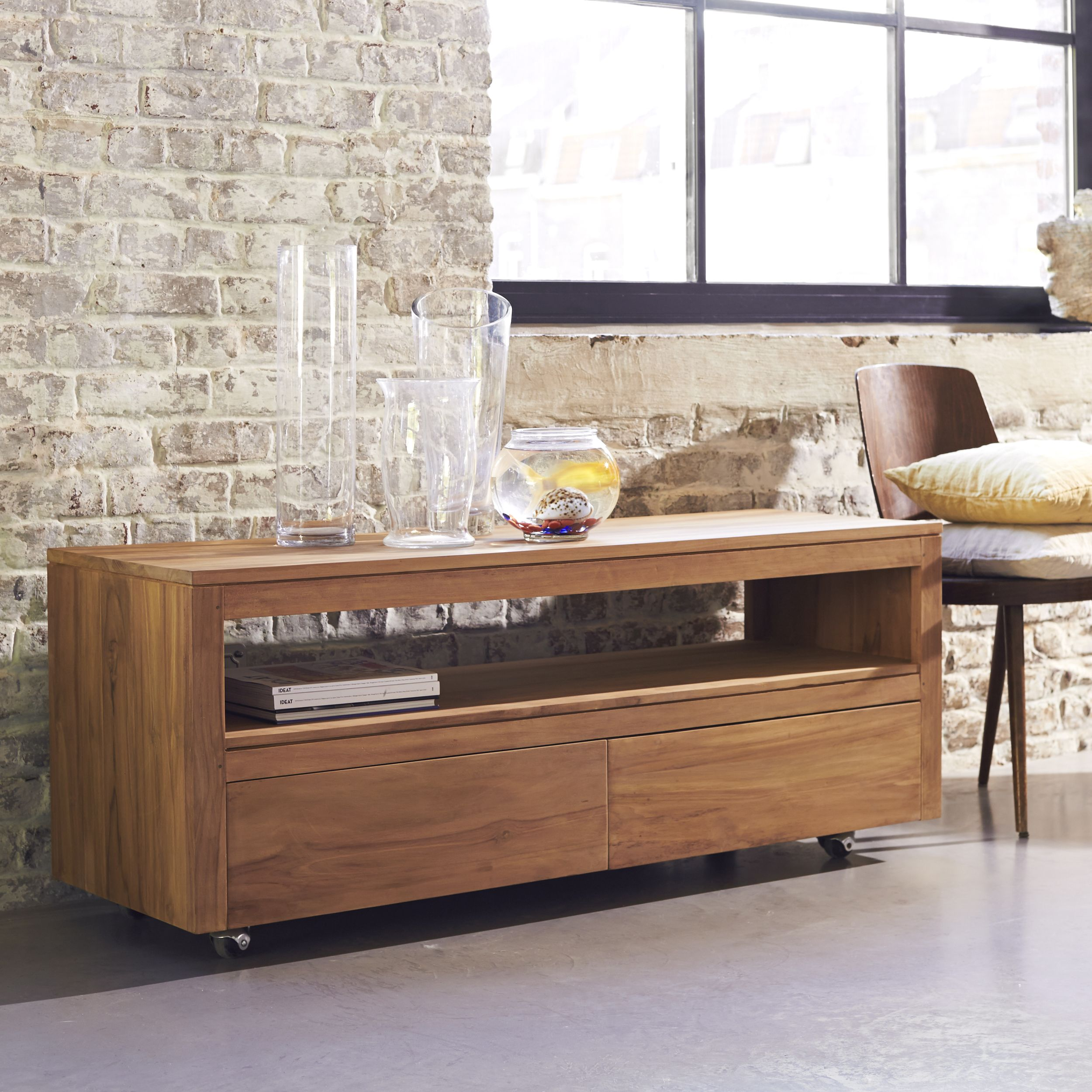 Anoa Teak Tv Stand 140 At Home Furniture Store Tv Stand Wood Home Furniture