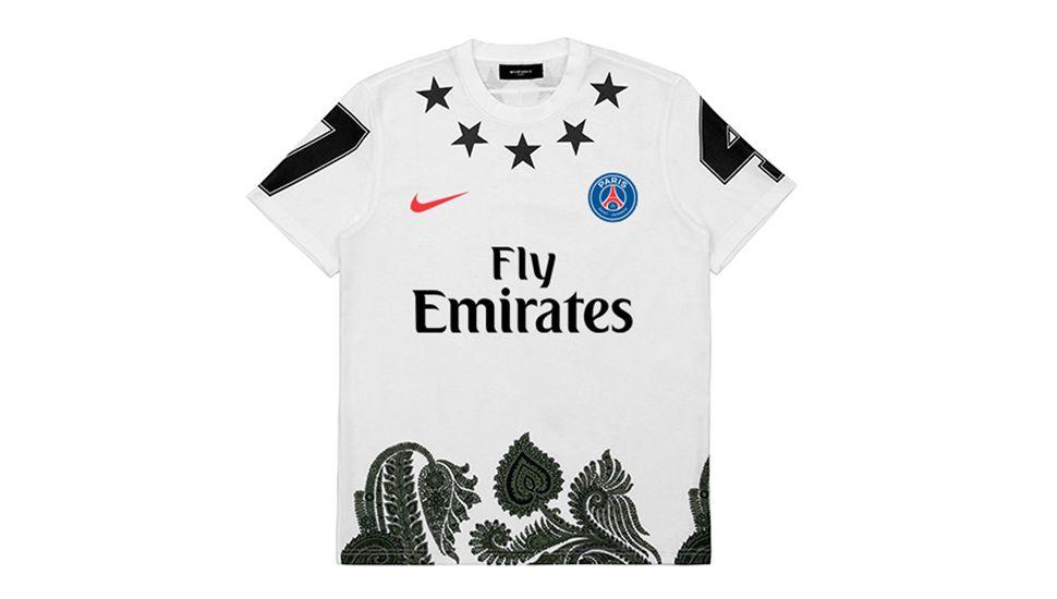 bea0fadfc23 Paris Saint Germain X Givenchy by Federico Maccapani Part ll Football Tops