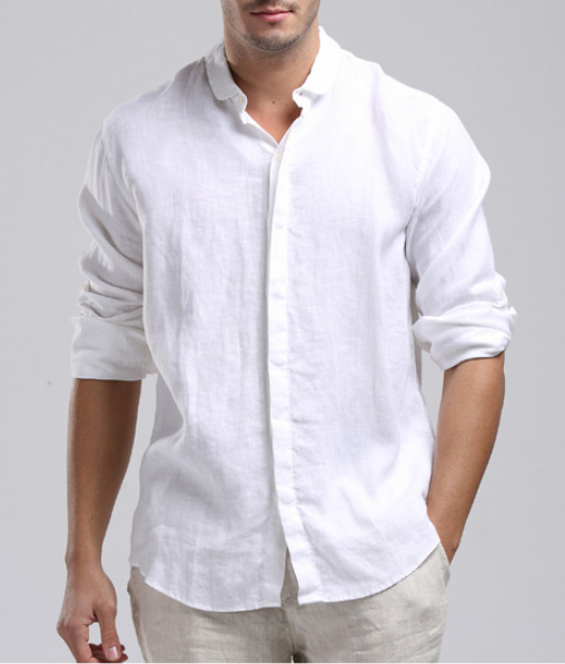 Excellent Mens Linen Shirt … | Pinteres… TQ92