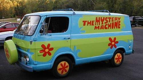 Scooby Doo The Mystery Machine Tv Amp Movie Cars Weird