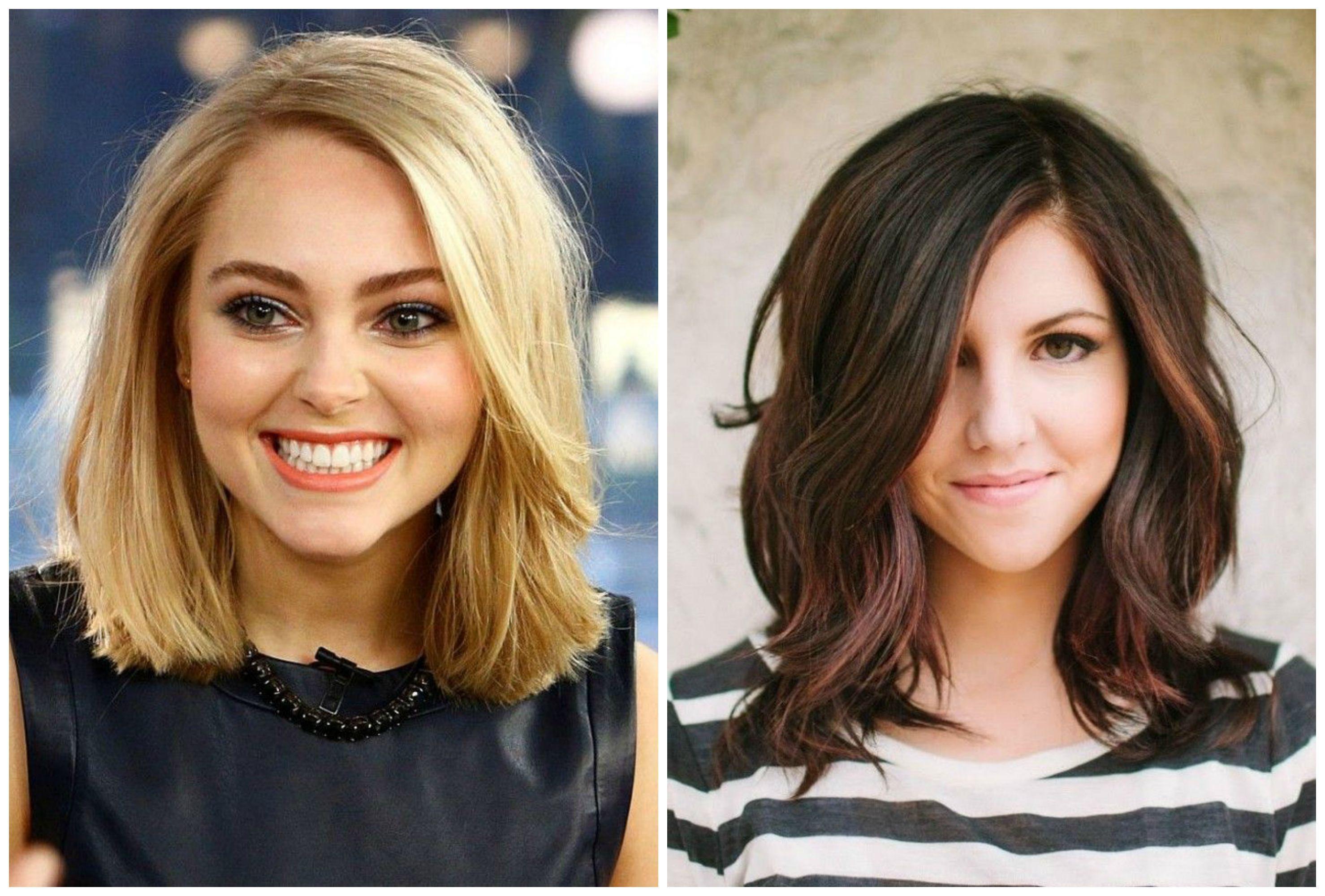 hårfrisyrer mellanlångt hår