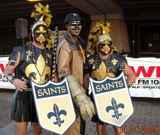 Meet New Orleans Saints Super Fans Mark Glorioso Stephen