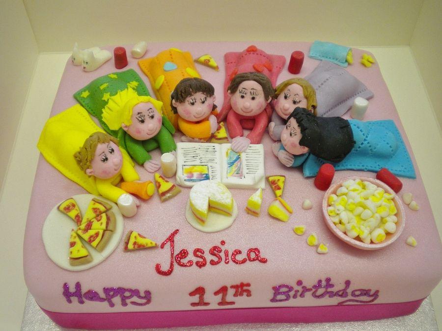 Marvelous Sleep Over Fun Slumber Party Birthday Funny Birthday Cards Online Inifodamsfinfo