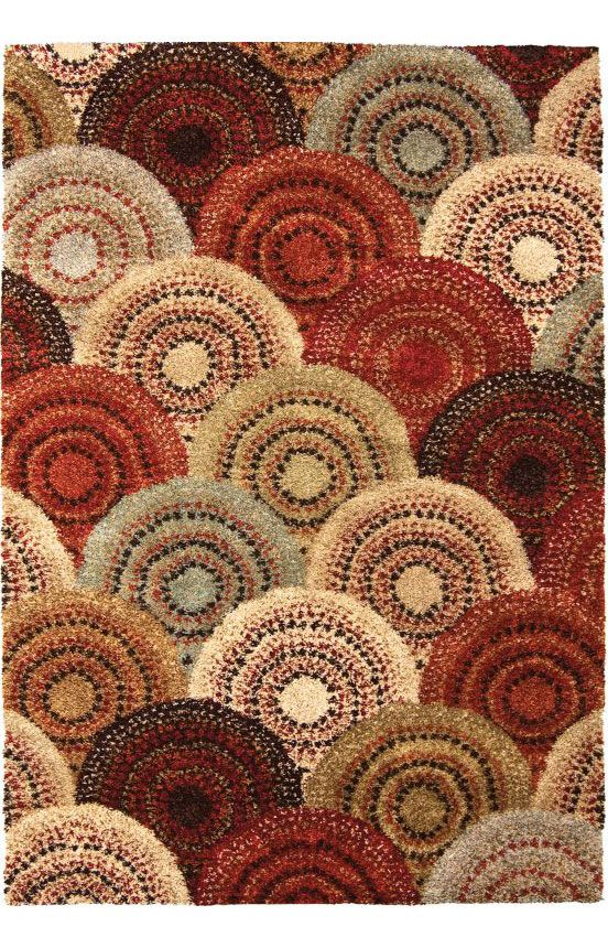 Orian Rugs Wild Weave Parker Rug (feels soft, thick, and shaggy; seen at Star)