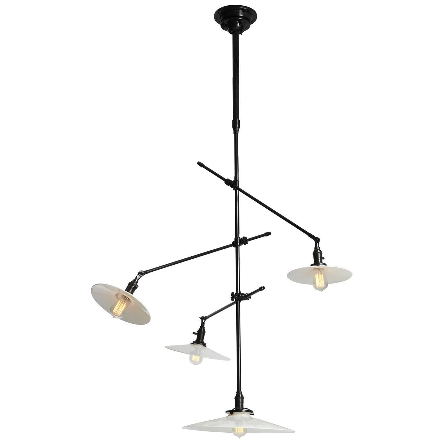 Articulating Ceiling Lamp By O C White 1stdibs Com Lamp Ceiling Mount Light Fixtures Chandelier Pendant Lights