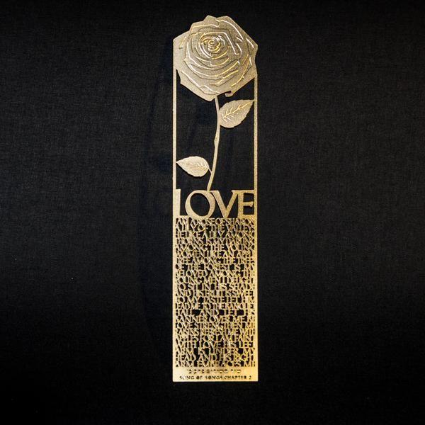 The Bookmark of Love - Rose of love SALE 50%off til Jan 30