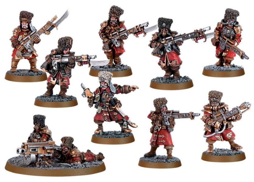 Vostroyan Scions: Imperial Guard Vostroyan Firstborn Squad