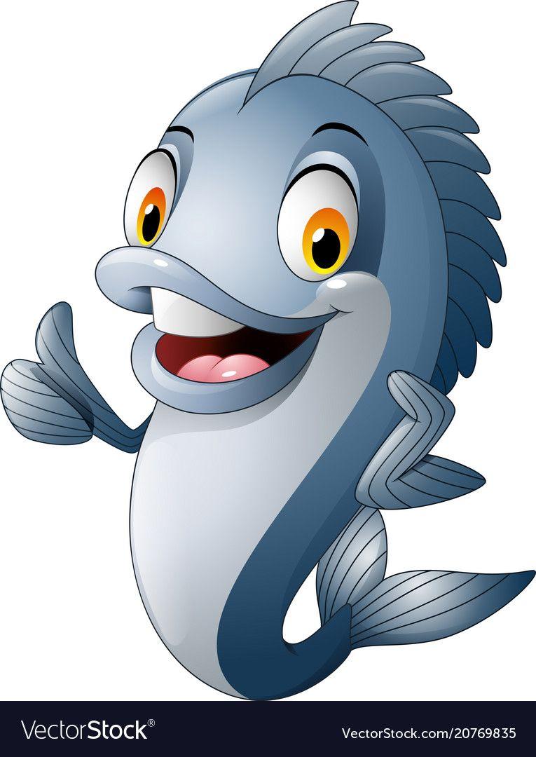 Ikan Tenggiri Kartun : tenggiri, kartun, Ikan,, Desain,, Tenggiri