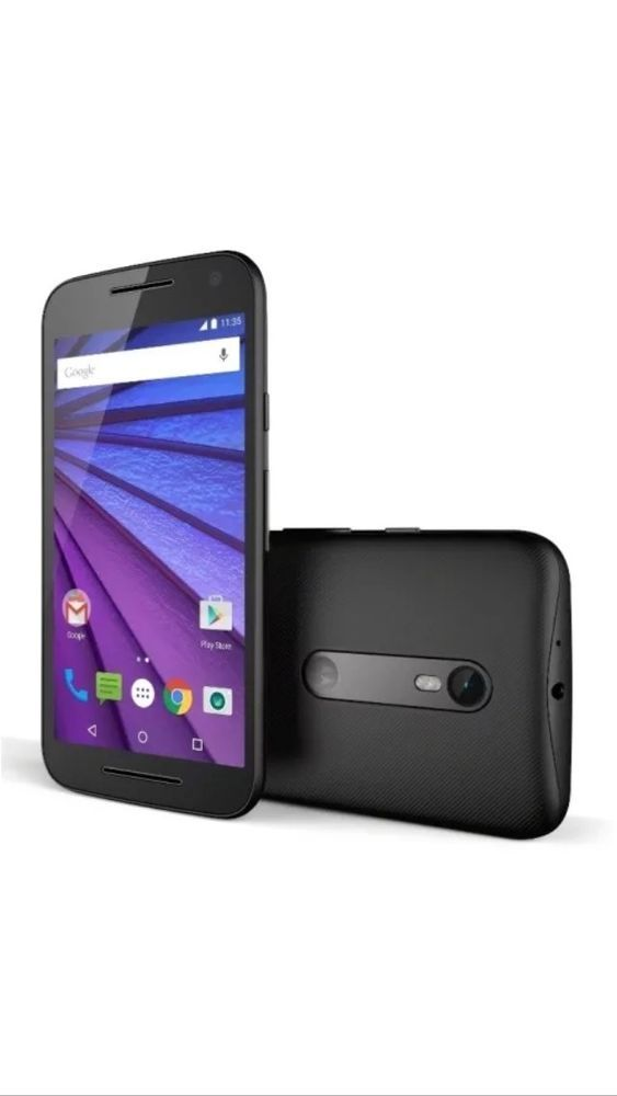 bb38a57dc2 Slight Use Motorola Moto G 3rd Gen XT1540 GSM 4G Unlocked Android Phone  Black 723755008526