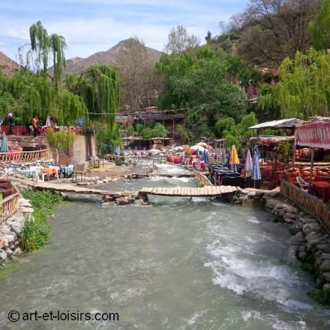 Setti fatma, une nature sublime à 50 km de Marrakech dans la vallée d'Ourika.