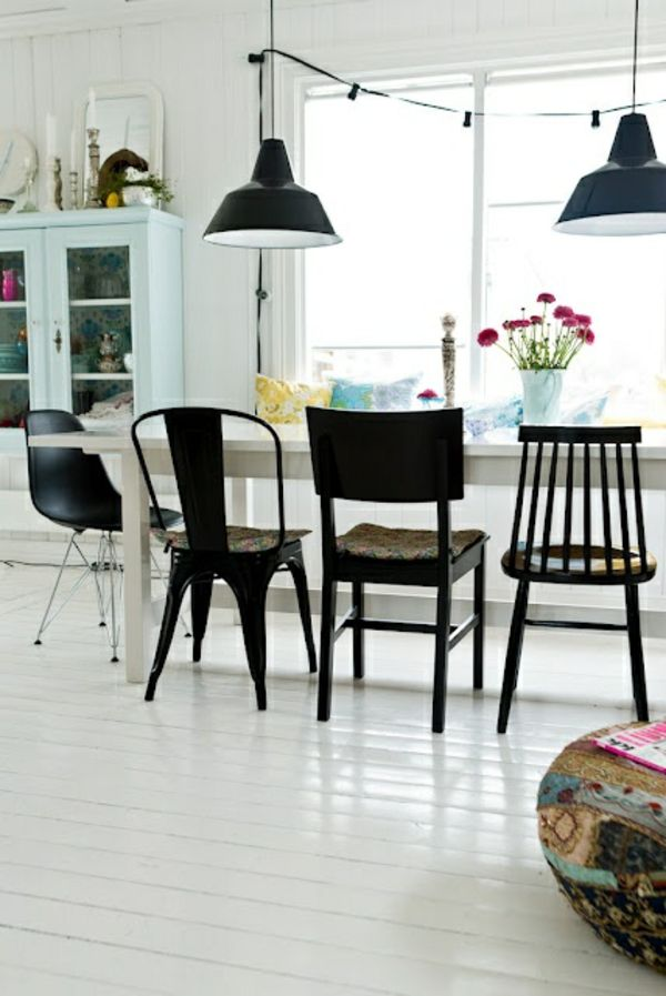 st hle f r esstisch 30 esszimmerm bel designs modernes. Black Bedroom Furniture Sets. Home Design Ideas