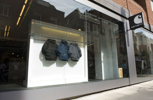 a03679ebb7 Addicted To Retail (ATR) Special Feature: Carhartt WIP Store London Earlham  Street