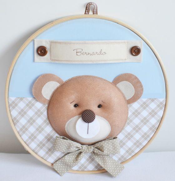 Quadro Maternidade Urso