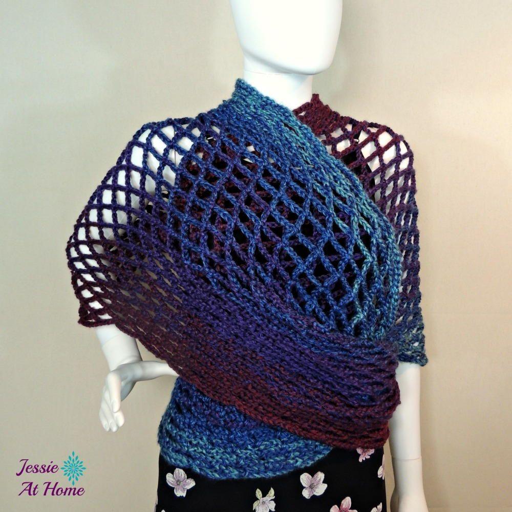 Netties Wrap Crochet Pattern   Crochet, Wraps and Patterns