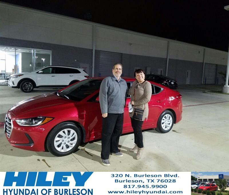 Happy Anniversary to Zelideth on your Hyundai Elantra