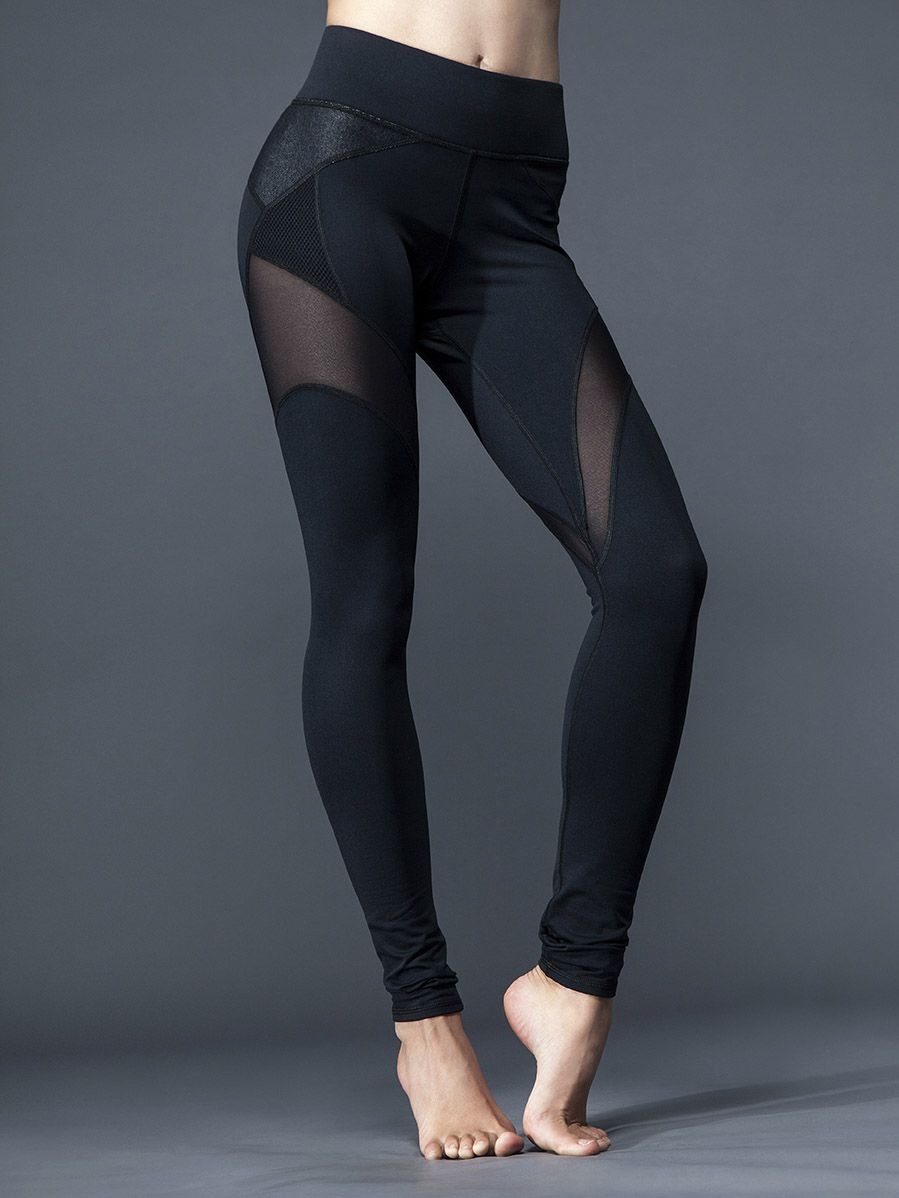 b953518b716275 Both high-fashion and high-performance, these Michi leggings are beyond  belief. Multiple mesh fabrics at the thighs keep you cool and cutting-edge,  ...