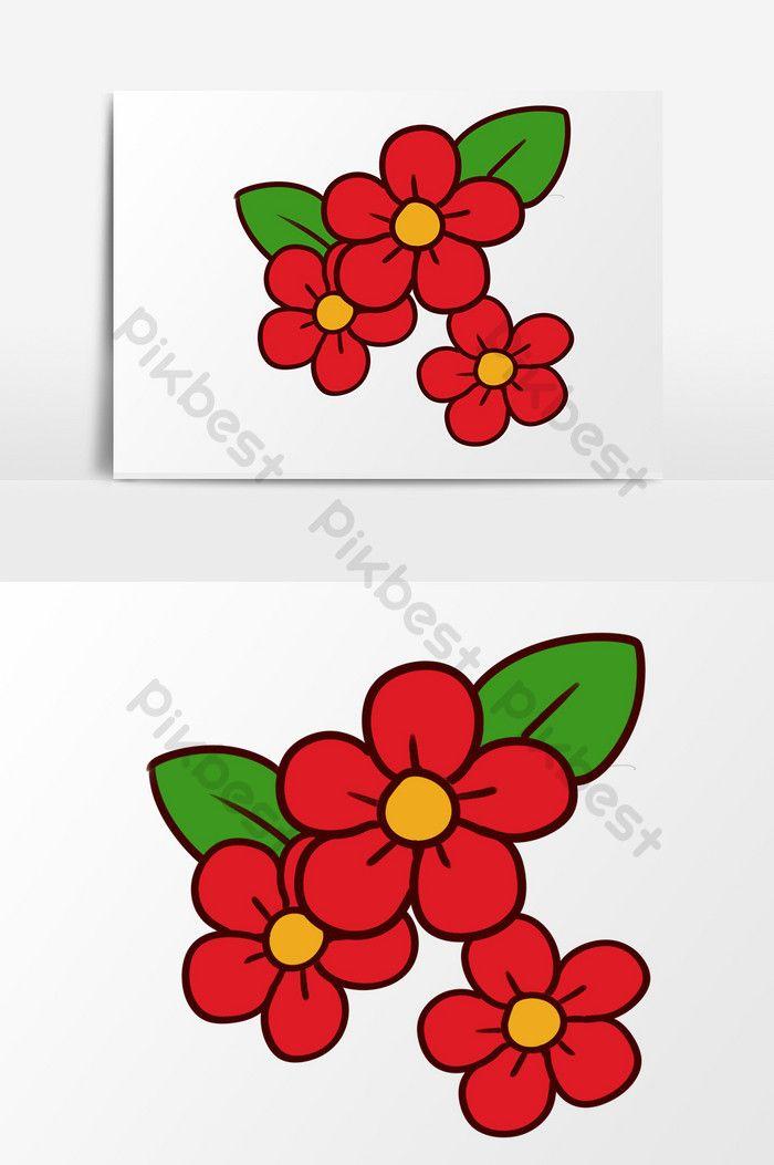 Gambar Bunga Bunga Kecil Kartun Tangan Kartun Yang Ditarik Tangan Kecil Bunga Bunga Hiasan Musim Rumput Tanaman Keramik Bintang K Gambar Bunga Gambar Bunga
