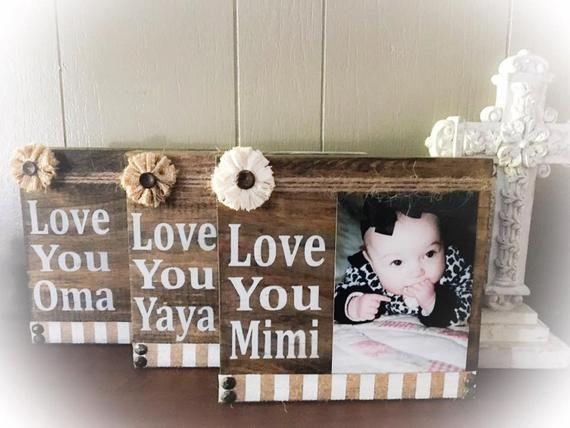 Mimi Picture Frame Mimi Mimi Sign Mimi Gift Mimi Wood Block Mimi