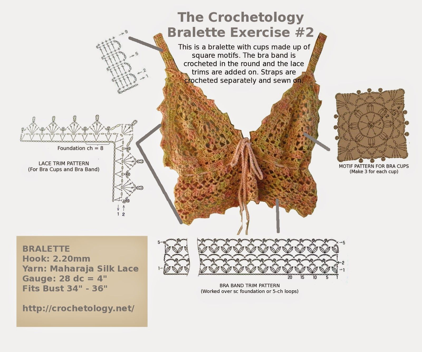 Free crochet patterns, design and creation of embellishments and ...