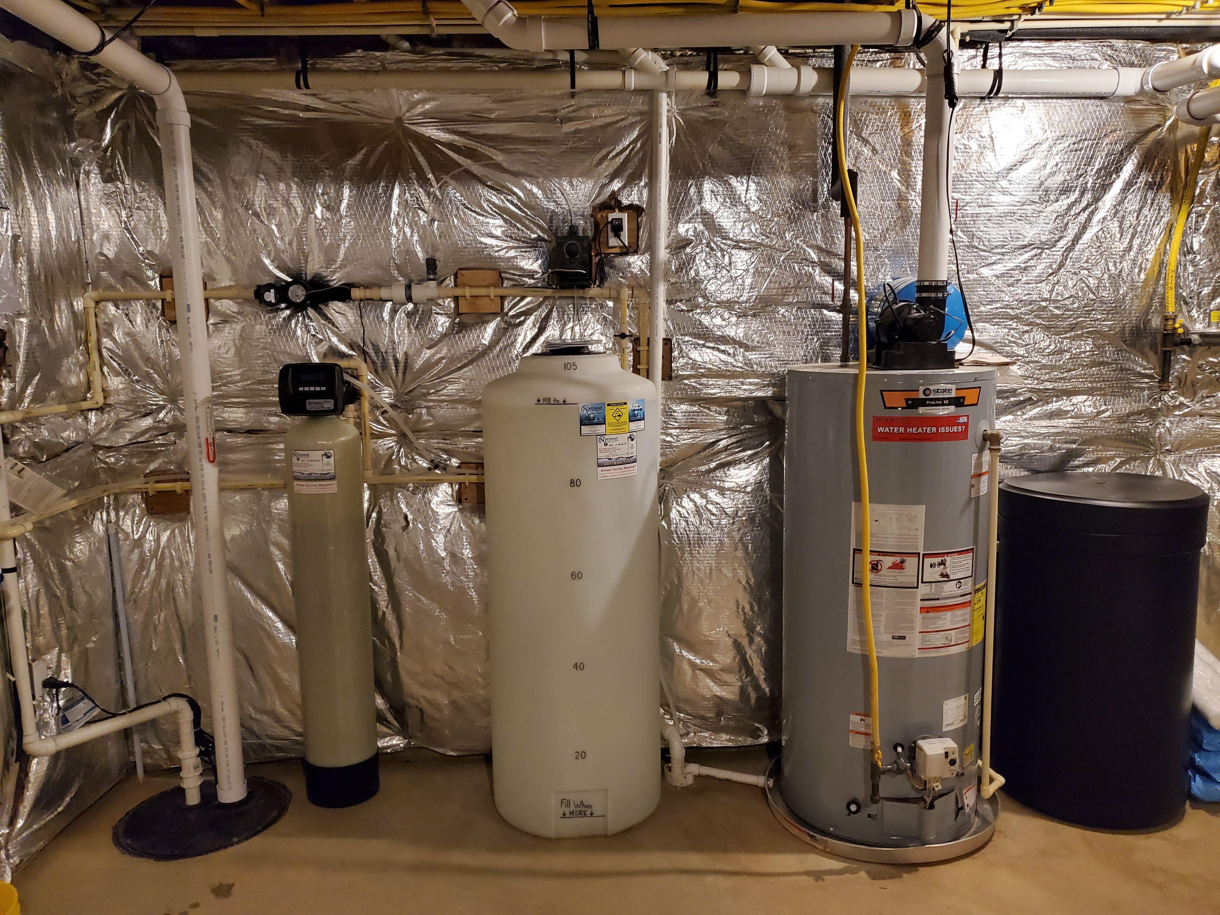Solution Feeder Water Softener Installation In 2020 Water Treatment Water Softener Water Quality