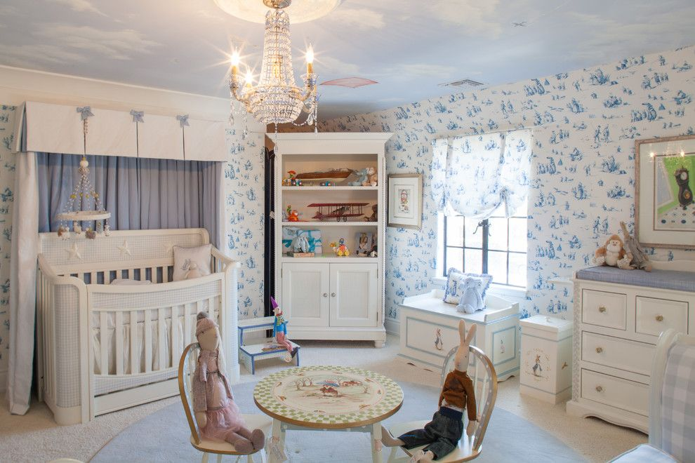 Breathtaking Peter Rabbit Nursery Traditional Design Ideas