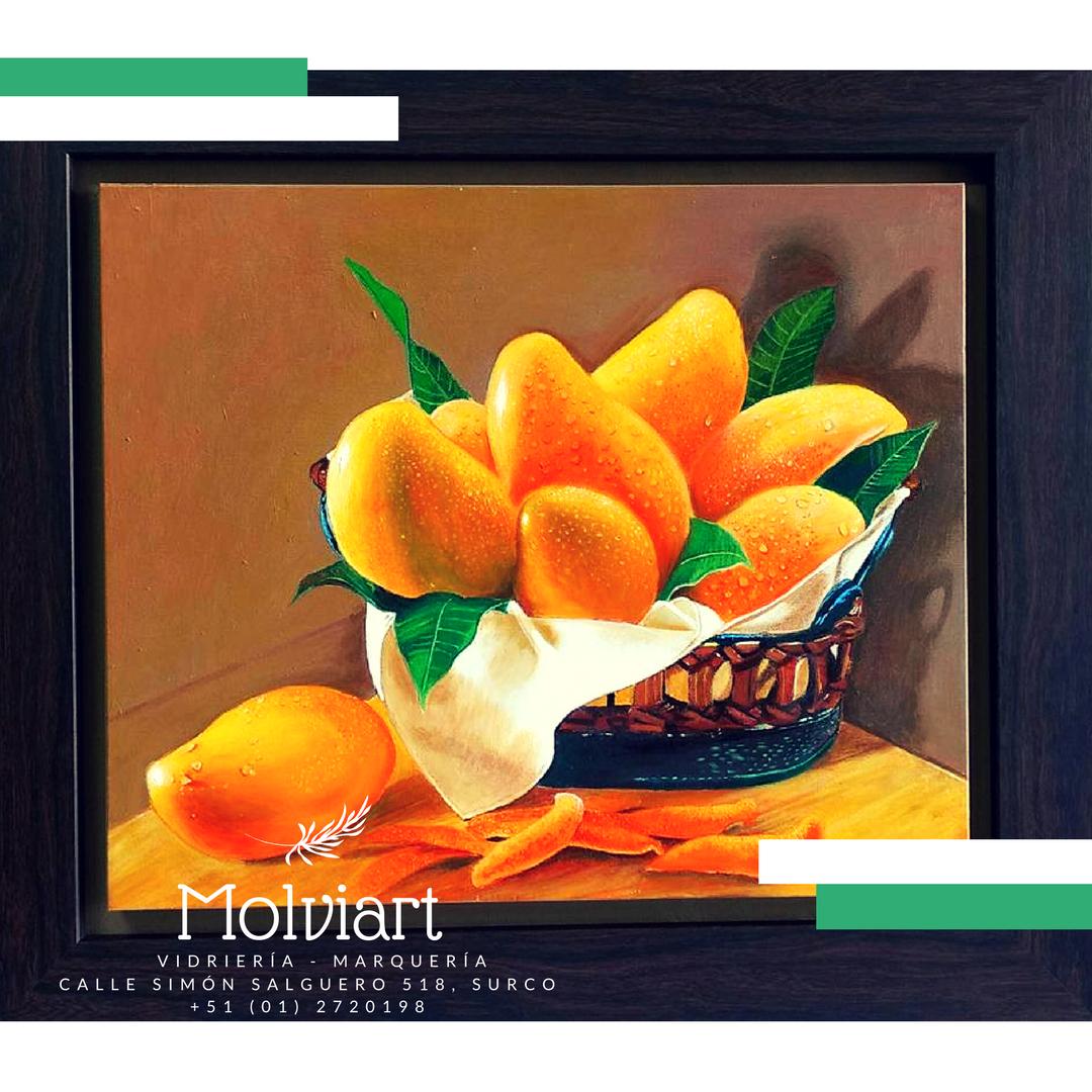Los cuadros frutales siempre son un opción para decorar la cocina o ...