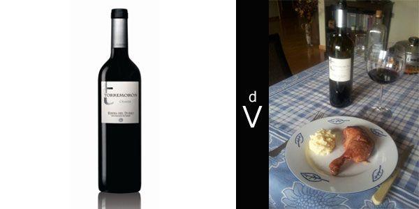 Torremoron Crianza 2009 Vinos Confit De Pato Y Uvas