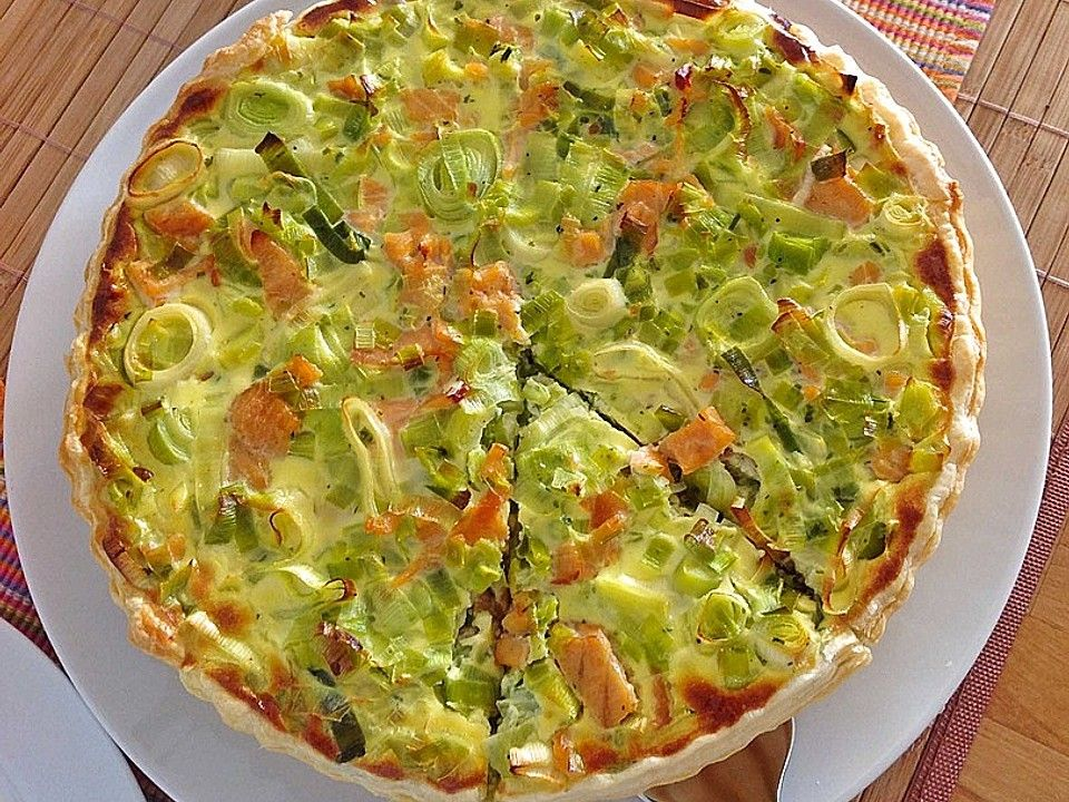 Photo of Lachs-Quiche von elijot324 | Chefkoch
