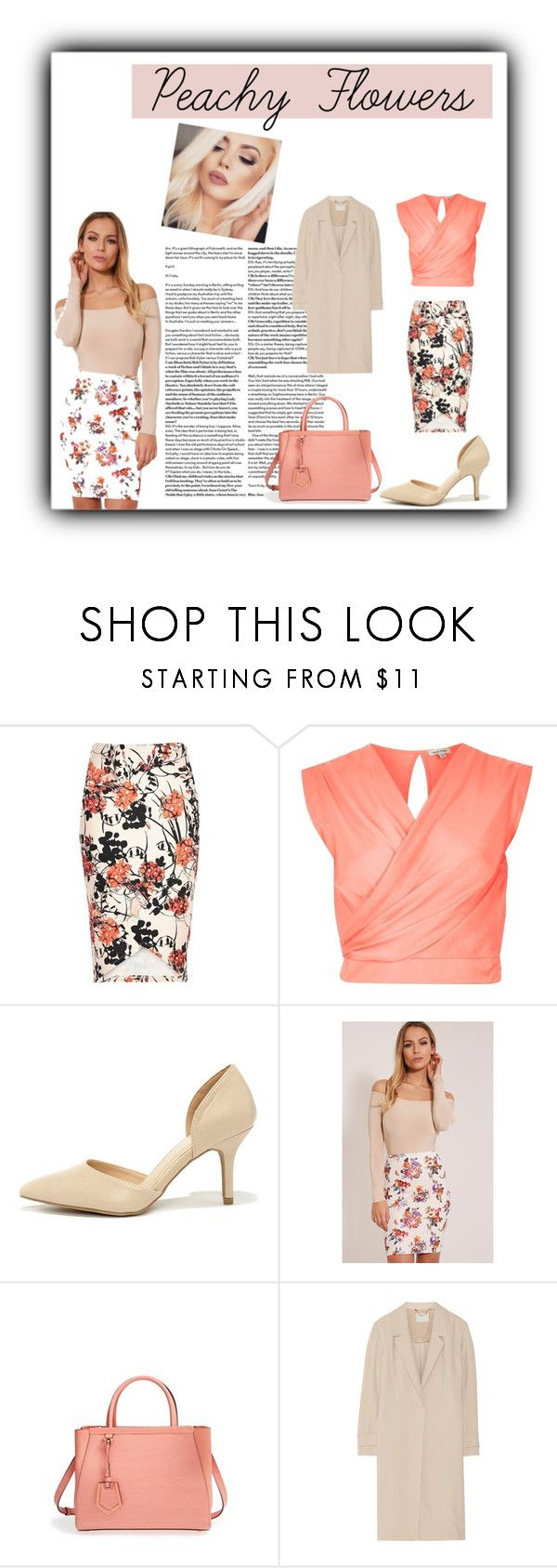 """""""Your Touch, My Comfort and My Lullaby"""" by saintlaurentsputa ❤ liked on Polyvore featuring River Island, Wild Diva, NYX, Fendi and Jason Wu"""