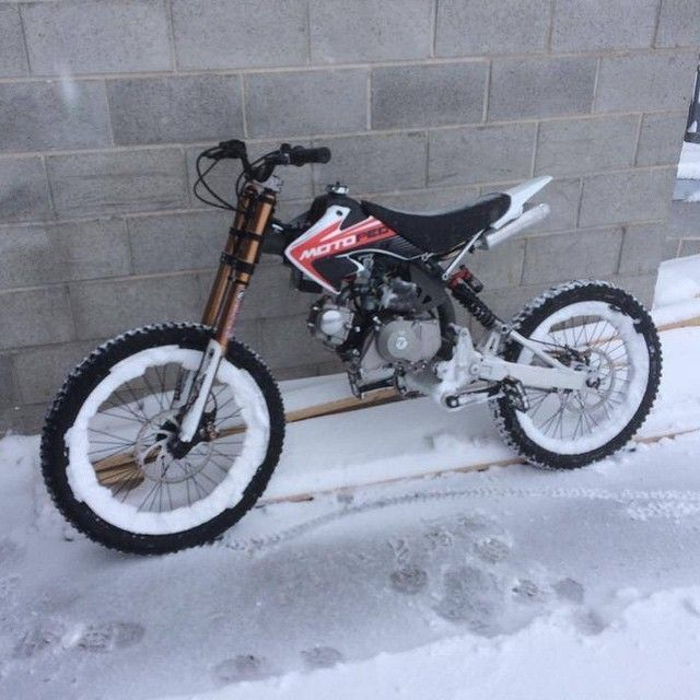 79a7e784d87 And people say winter is a bad time to ride the MOTOPED. #winter ...