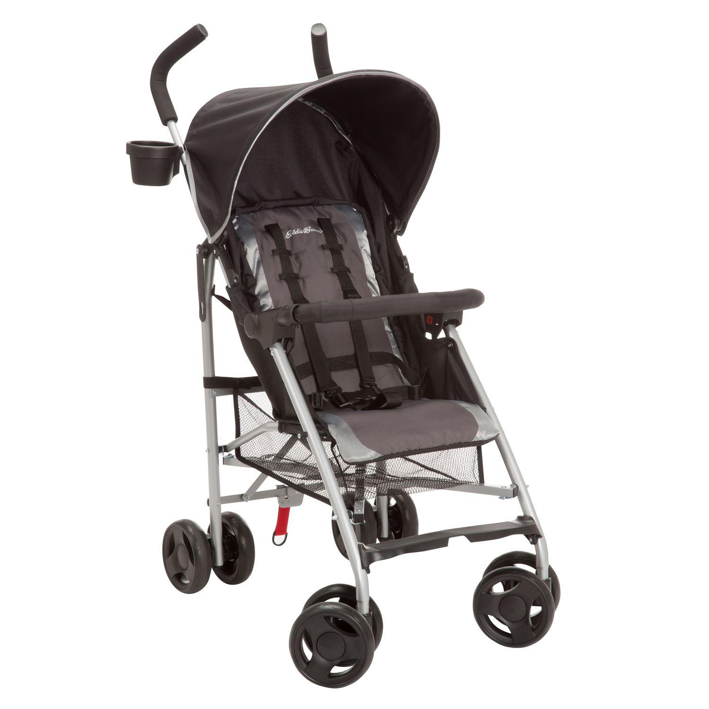 Portage Umbrella Stroller stores quickly and compactly