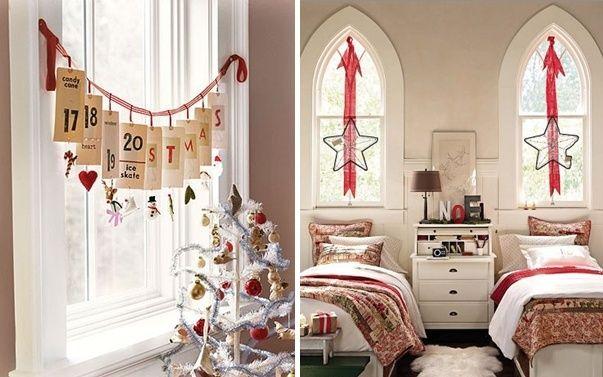Ideen Fensterdeko Zu Weihnachten Adventskalender Schlafzimmer