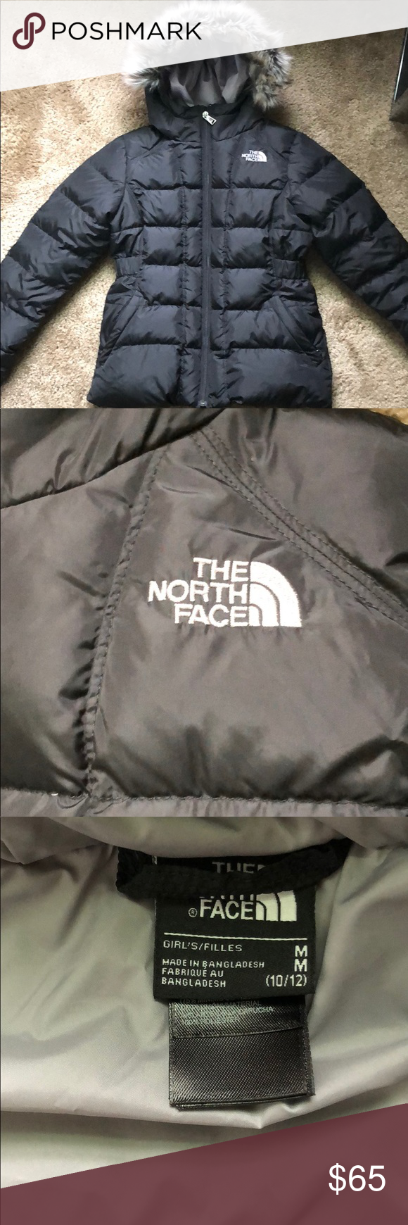 Nwot Girls North Face Jacket Size 10 12 Girls North Face Jacket North Face Jacket North Face Girls [ 1740 x 580 Pixel ]
