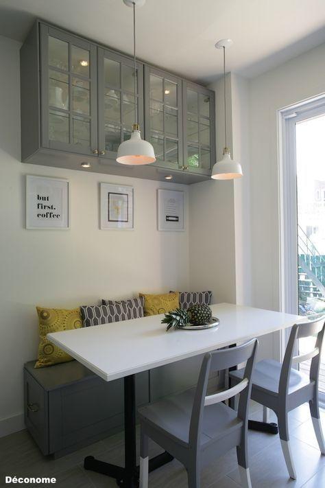 Avant / après: notre cuisine IKEA grise et blanche