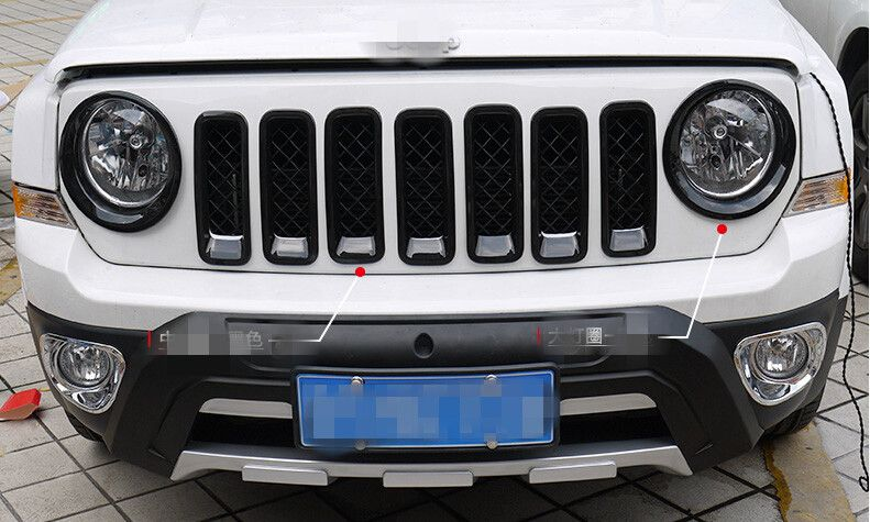 Item Fitment For Jeep Patriot Material Made Of Abs