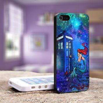 Doctor Who Tardis Meets Disney iphone case