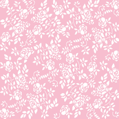 Elaine Rose Stencil in peony pink, by Lilyoake. Available on Spoonflower in fabrics, wallpaper, wrapping paper and decals.