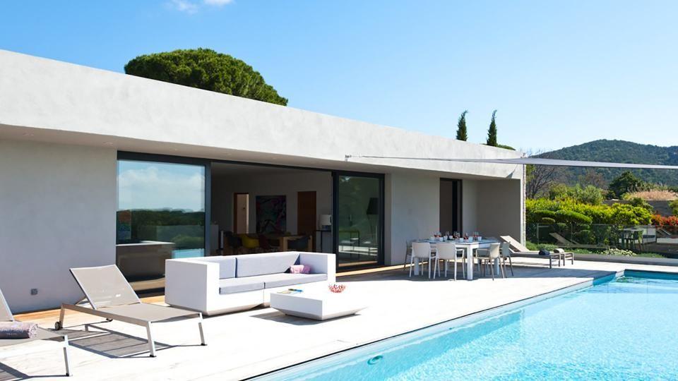 Villa Marinka A Corse Vue De La Maison Maison Comptemporaine