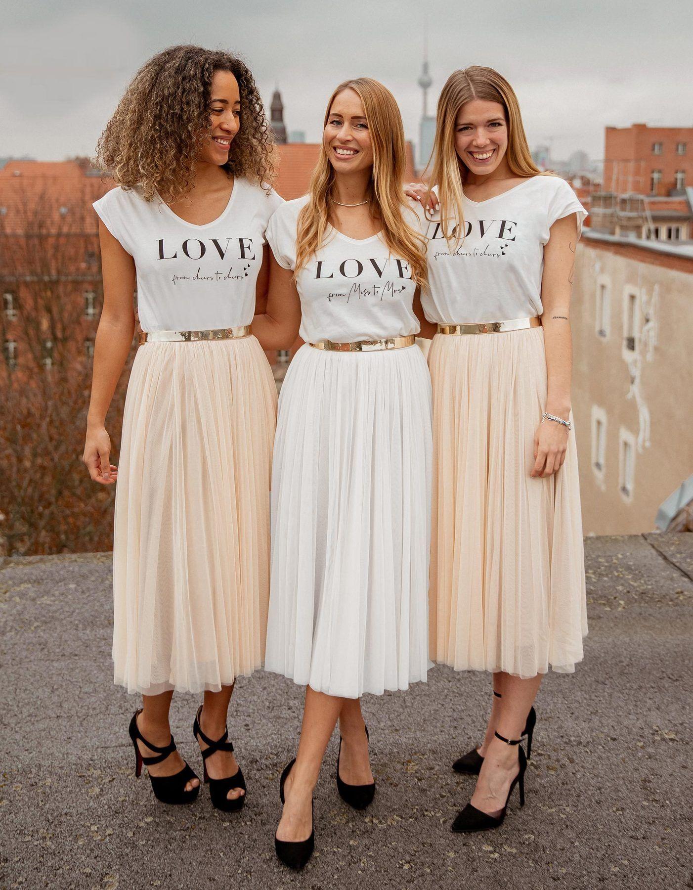 Constant Love T-Shirt Braut in 2020 | Braut oberteile ...