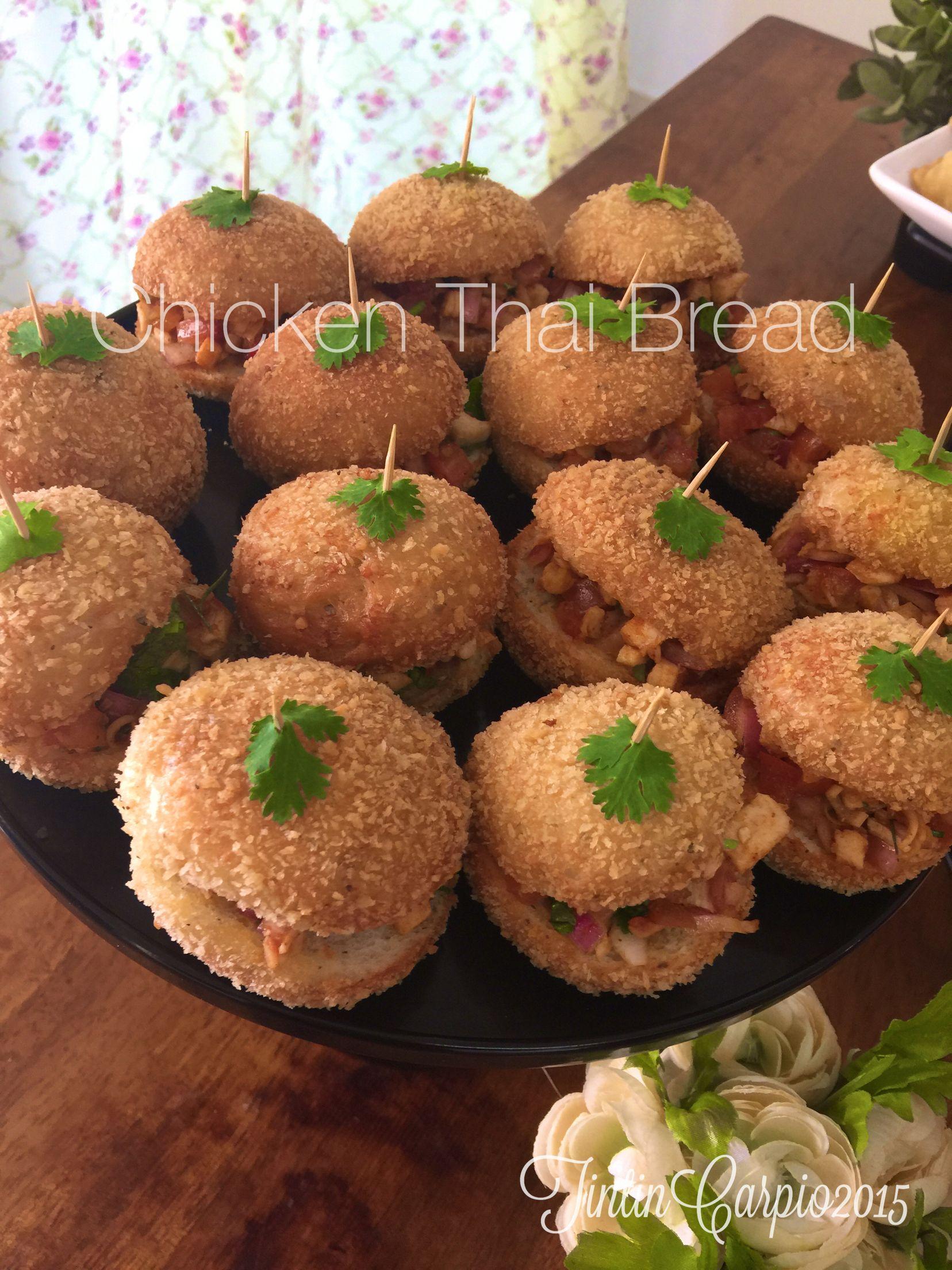 Chicken Thai Bread Resep Roti Resep Masakan Resep